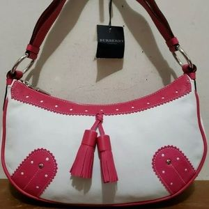 Authentic Burberry small hand bag